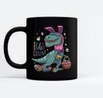 T Rex Easter Bunny Egg Cellent Dinosaur Easter Eggs T Black Mugs