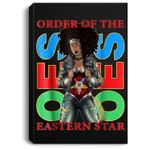 The Masonic Store- OES - Eastern Sistar Style Gift Portrait Canvas