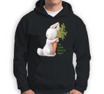 Vegan Vegetarian The Easter Bunny Is Vegan Sweatshirt & Hoodie