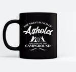 Drunkest Assholes Funny Drunk Camping Ceramic Coffee Black Mugs