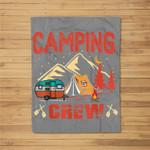 Camping - Camping Crew Kids Fleece Blanket