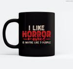 Horror Movie Ceramic Coffee Black Mugs