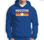 HOUSTON Retro Vintage Gift Men Women Kids Sweatshirt & Hoodie
