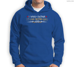 I Would Rather Stand With God Knight Templar Sweatshirt & Hoodie