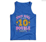 It's My 10th Birthday  This Girl Is Now 10 Years Old Men Tank Top