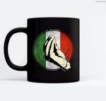 Italian Gift Funny Italy Ceramic Coffee Black Mugs
