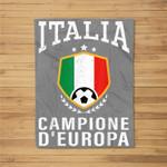Italy Italia Jersey Soccer 2021 Team For Men Women Kids Fleece Blanket