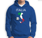 Italy Soccer Italian Italia Forza Azzurri Sweatshirt & Hoodie