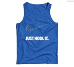 Just Hodl It - Hold Bitcoin Ethereum Men Tank Top