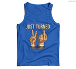 Just Turned 21 (21 birthday gifts) Men Tank Top