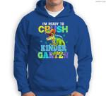 Kids I'm Ready To Crush Kindergarten Dinosaur Back To School Kids Sweatshirt & Hoodie