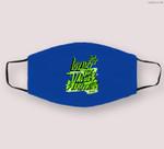 L.O.V.E Graphic Match Jordan 6 Electric Green Cloth Face Mask