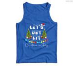 Let's Get Lit Christmas In July Men Tank Top