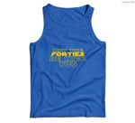May the Forties Be With You Funny 40th Birthday Gift Men Tank Top