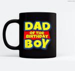 Mens Dad Of The Toy Birthday Boy Gift Ceramic Coffee Black Mugs