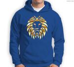 Metallic Gold King Lion Jungle Sweatshirt & Hoodie