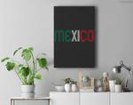 Mexico Soccer Futbol Camisa Mexicana Premium Wall Art Canvas Decor