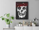 Misfits Splatter Premium Wall Art Canvas Decor