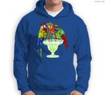 Parrots Drinking Margarita Hawaiian Vacation Birds Sweatshirt & Hoodie