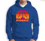 Phoenix Basketball B-Ball City Arizona State Retro Vintage Sweatshirt & Hoodie
