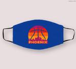 Phoenix Basketball B-Ball City Arizona State Retro Vintage Cloth Face Mask
