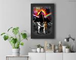 Pink Floyd Dark Side of the Moon Astronaut Premium Wall Art Canvas Decor