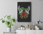 Poison - Thorns & Wings Premium Wall Art Canvas Decor
