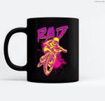 Rad BMX 80s Ceramic Coffee Black Mugs