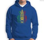 Rasta Lion of Judah Rastafarian Reggae Ethiopian Lion Gift Sweatshirt & Hoodie