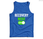 Recovery Mode On Get Well Gift Funny Injury Men Tank Top