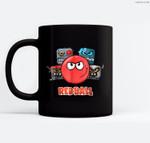 Red Ball 4 - The Crew Ceramic Coffee Black Mugs