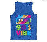 Retro Aesthetic Costume Party Outfit - 90s Vibe Men Tank Top