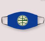 Retro Milwaukee Basketball Home Game Cloth Face Mask