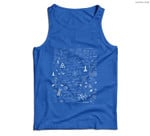 Science Physic Math Chemistry Biology Astronomy Men Tank Top