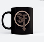 SF Sanity's Fall Larry Ceramic Coffee Black Mugs