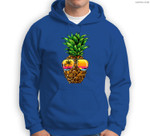 Sunglasses Pineapple Aloha Hawaii Luau Hawaiian Vacation Sweatshirt & Hoodie