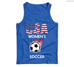 Support Women's Soccer Team USA Men Tank Top