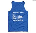 Take Him To The Train Station Men Tank Top
