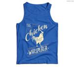The Chicken Whisperer Funny Chicken Lover Farming Men Tank Top