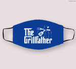 The Grillfather BBQ Grill & Smoker  Barbecue Chef Cloth Face Mask