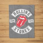 The Rolling Stones Tour 1978 Fleece Blanket