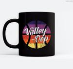 The Valley Oop Phoenix Basketball Retro Sunset Basketball Ceramic Coffee Black Mugs