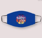 The Valley Oop Phoenix Basketball Retro Sunset Basketball Cloth Face Mask
