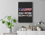 Trump 2024 The Return - Make Liberals Cry Again Premium Wall Art Canvas Decor