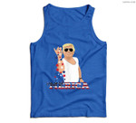 Trump Bae - Funny 4th of July Trump Salt Freedom Men Tank Top