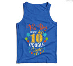 This Boy is Now Double Digits, Birthday Boy 10 year old Men Tank Top