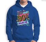 Vintage 1980s 80's Baby 1990s 90's Made Me Retro Nostalgia Sweatshirt & Hoodie