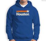 Vintage Houston Texas Houston Strong Stripes Sweatshirt & Hoodie