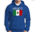 Vintage Mexico Mexican Flag Pride Gift Sweatshirt & Hoodie