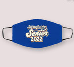 Vintage My Last First Day Senior 2022 Back To School Cloth Face Mask